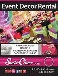 Event Decor Rental Satin Chair Event Decor Rental Www Milestonesmagazine Com Www