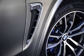 logo bmw the new bmw x5 m side gills with the m logo and air breathers 10