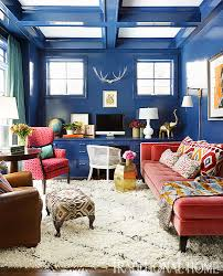 15 rooms with big bold color traditional home