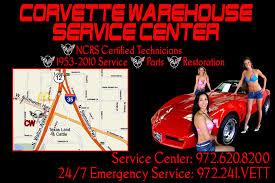 corvette warehouse dallas service center corvette warehouse
