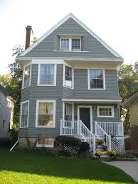 image of outside home color trends including sample exterior house