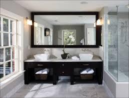 bathroom fabulous glass bathroom shelves home depot white modern