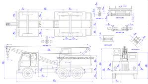 Woodworking Plan Free Download by Wooden Truck Crane Model Plan