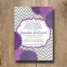 purple bridal shower invitations purple butterfly bridal shower