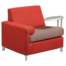 Tuohy Reception Desk Tuohy Used Left Tablet Lounge Chair Red National Office