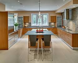 u shaped kitchen designs with island the big five types of shaped kitchen layouts home design and