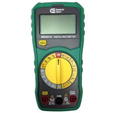 commercial electric manual ranging digital multi meter ms8301a