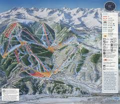 Vail Colorado Map by Beaver Creek Resort Skimap Org
