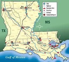 map louisiana highways interstates louisiana transportation map