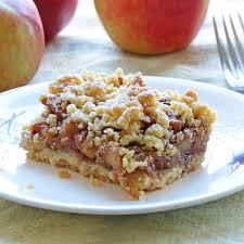 crunchy and sweet enough cinnamon caramel apple bars are