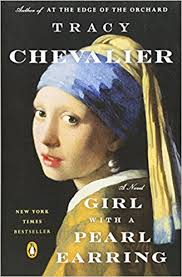 girl pearl earing girl with a pearl earring a novel 9780452282155