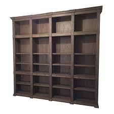 Restoration Hardware Throw Restoration Hardware Atkins Quad Bookshelf Chairish