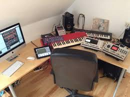 thomann studio desk your setups other gear elektronauts