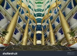 inside burj al arab uae dubai jumeira hotel burj al stock photo 1884076 shutterstock