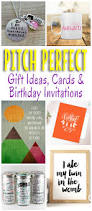 pitch perfect gifts cards and birthday party invitations omg