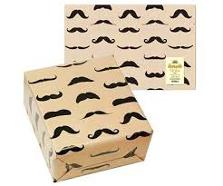 mustache wrapping paper mustache gift wrap paper