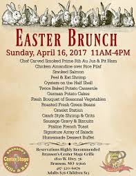 Easter Brunch Buffet by Easter Events In Branson 2017 Branson Tourism Center