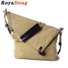 wholesale royadong 2016 new women messenger bags canvas vintage