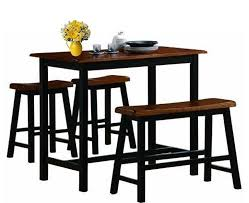 solid wood counter height table sets dining sets counter height kitchen table set stools and bench seat