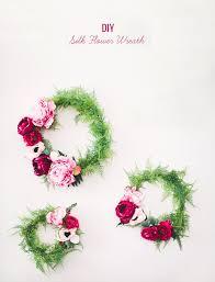 wedding wreath diy silk flower wreath green wedding shoes weddings fashion