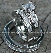 his and hers white gold wedding rings his and hers wedding bands ebay