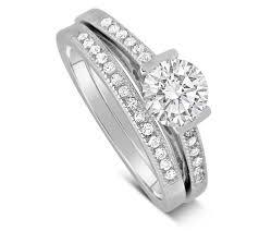 Best Wedding Ring Designers by Fashion Ring Designer 2 Carat Round Cubic Zirconia Wedding Ring