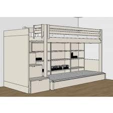 Chambre Ado Fille Avec Lit Mezzanine by Chambre Complete Pour Enfants Ados Avec Lit Mezzanine Bureau Et