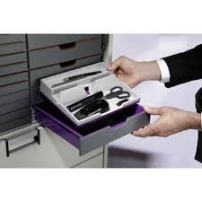 bureau violet durable varicolor organisateur de bureau violet pot à crayon
