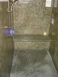 Bathroom Shower Floor Ideas by Cement Shower The American Edge Inc Concrete Showers U0026 Bath