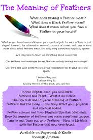 What Does Wall Mean by Free A4 Poster For The Meaning Of Feathersspiritual Wisdom