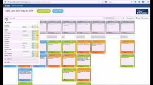 User Story Card Template Agile User Story Map For Jira Youtube
