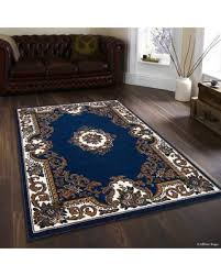 Black And Brown Area Rugs Spectacular Deal On Allstar Rugs Hand Woven Blue Brown Area Rug