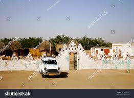 thar desert safari camp thar desert jaisalmer rajasthan stock photo 8049679