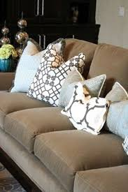 Chocolate Torino Madrid Cowhide Leather Throw Pillow Apt - Decorative pillows living room