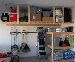 Garage Shelf Design Build An Overhead Garage Storage Ideas Optimizing Home Decor Ideas