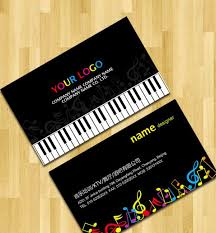 free music business card templates business cards for teachers 48