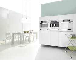 Modern Kitchen With White Appliances Adorable Modern Kitchen With White Appliances Perfect Small Home