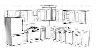 l shaped kitchen with island floor plans l shaped kitchen island floor plan home design l shaped