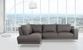 Modern Sectional Sofas Miami by Casa Primrose Modern Eco Leather Sectional Sofa