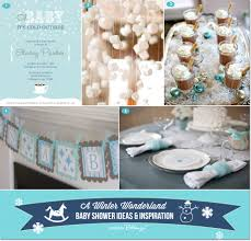 baby shower wall decorations a winter baby shower that you can diy