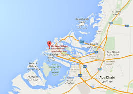 map of abu dabi where is heritage on map abu dhabi world easy guides