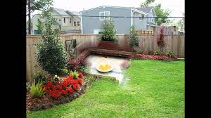 home landscaping design ideas for small backyards youtube
