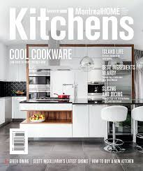 Designer Kitchens Magazine Montreal Home Magazine Audacia Design