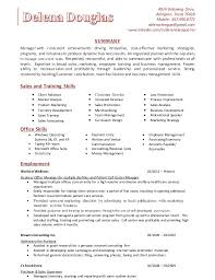 Sample Skills Resume by Horse Trainer Cover Letter