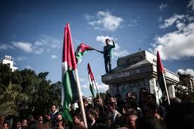 Flag Of Jerusalem Photos Protests Erupt After Trump U0027s Jerusalem Announcement The