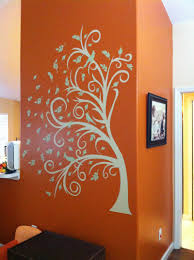 orange livingroom living room colorsorange roomwall interiordecoration excellent