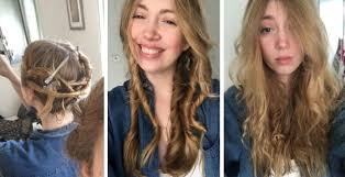 hair styles for air drying we tried air dry hairstyles and here s what happened