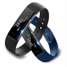 activity monitoring bracelet images Id115 fitness tracker smart bracelet step counter activity monitor png