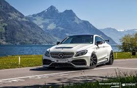 mercedes official parts official prior design mercedes c class coupe widebody gtspirit