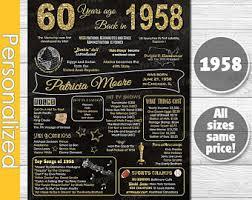 60 birthday gifts 60th birthday gift 60th birthday gifts for women printable